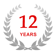 9 years in the market a hosting of services